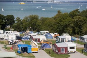 Waverley Holiday Park East Cowes IOW touring
