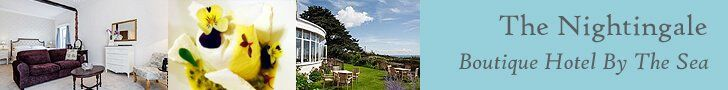 Nightingale Hotel Shanklin Isle of Wight boutique bed breakfast B&B bar restaurant sea view swimming pool